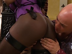 Jada Fire Takes a Hard Pounding!